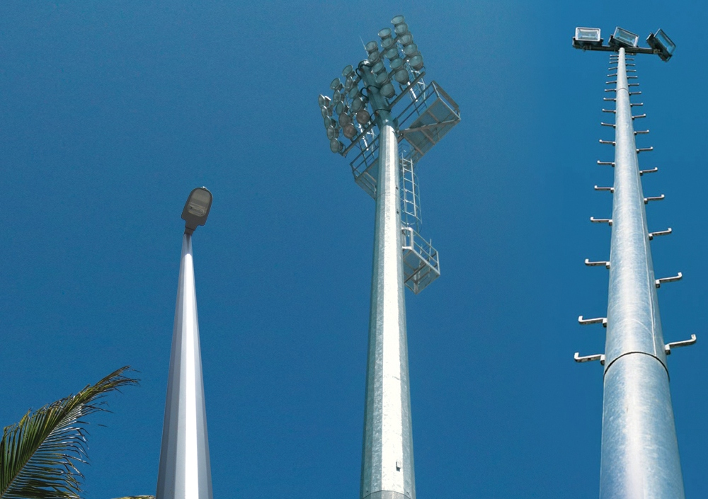 Used Light Poles : MakÇelİk a Ş